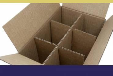 Acessórios para caixas de papelão