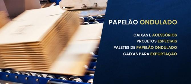 CAIXA DE PAPEL ONDULADO
