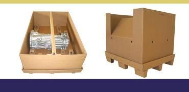 Palete de Papelão e Caixas Especiais
