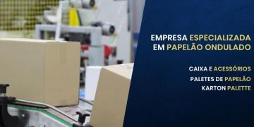 FABRICANTE DE CAIXA DE CAIXAS DE PAPELÃO ONDULADO
