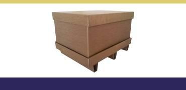 Caixas de papelão para exportação