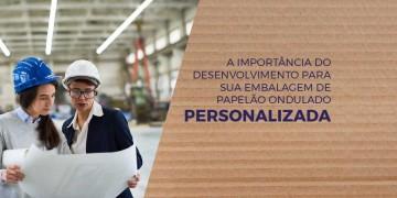 Embalagem de papelão ondulado personalizada: A importância do Desenvolvimento